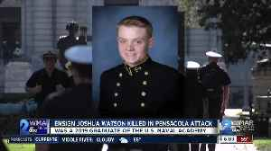 "US Naval Academy grad killed in FL represents ""the best of us"" [Video]"