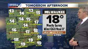 Breezy and cold Wednesday, high of 18 [Video]