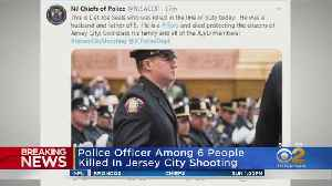 Officer Killed In Jersey City Shootout Identified [Video]