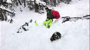 Utah Man Says Gear, Luck Saved His Life in Avalanche That Buried Friend [Video]