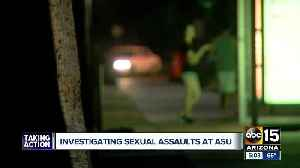 Sex assault reported on ASU's Tempe campus [Video]