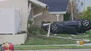 Woman Killed, 2 People Injured After Car Slams Into Simi Valley Home [Video]