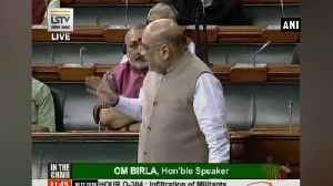 Amit Shah slams Adhir Ranjan in Lok Sabha for questioning normalcy in JK [Video]