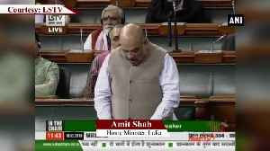 Congress' prediction of bloodshed in JK after Article 370 abrogation proved to be wrong HM Shah [Video]