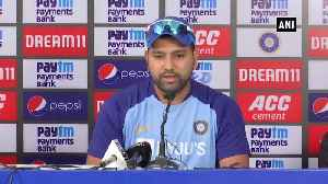 Rohit Sharma addresses media ahead of 3rd T20I series [Video]