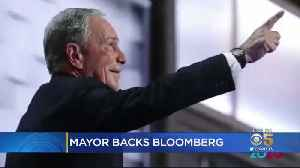 SJ Mayor Liccardo Defends Endorsement Of Billionaire Bloomberg For President [Video]