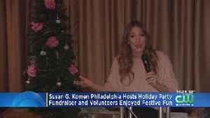 Folks At Susan G. Komen Philadelphia Gather For Holiday Fun At Hard Rock Cafe [Video]