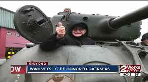 WWII vets to be honored overseas [Video]