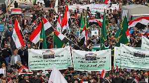 Protests continue in Baghdad [Video]