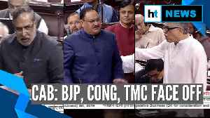 BJP, Congress, TMC face off on CAB in Rajya Sabha: Who said what [Video]