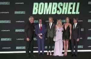 Premiere of sexual harassment film 'Bombshell' [Video]