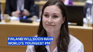 News video: Finland's about to have the world's youngest Prime Minister