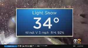 New York Weather: Snowy Start [Video]