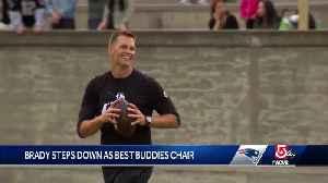 Brady steps down as Best Buddies chair [Video]
