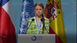 Greta Thunberg hits out at governments for lack of climate action