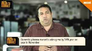 Mark To Market The pharma sector sales growth explained [Video]