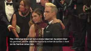 Robbie Williams jokes Ayda Field didn't make the cut for Christmas duet [Video]
