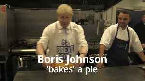 News video: Boris Johnson pulls 'Get Brexit Done' pie out of the oven