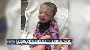 Cycling Santas for Paxton [Video]