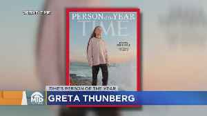 Greta Thunberg Named 2019 TIME Person Of The Year [Video]