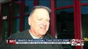 City of Owasso rallies around State Championship Football team [Video]