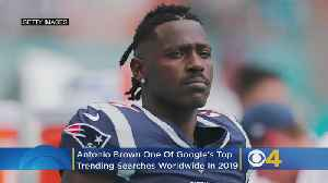 Antonio Brown Was One Of Google's Top Trending Searches Worldwide In 2019 [Video]