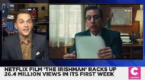 Netflix's 'The Irishman' Gets 26.4 Million Views in Its First Week [Video]