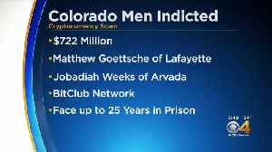 2 Colorado Men Arrested In $722 Million Cryptocurrency Scheme [Video]