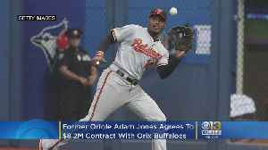 Former Orioles Star Adam Jones Moving To Japan, Agrees To $8.2M, 2-Year Contract With Orix [Video]