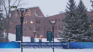 Citing Declining Student Enrollment, Bethel University To Cut Staff, Faculty [Video]