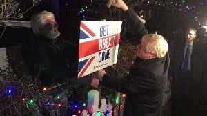 Boris Johnson hammers in sign on last day of campaigning [Video]
