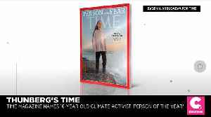 Climate Activist Greta Thunberg Named Time's 2019 Person of the Year [Video]