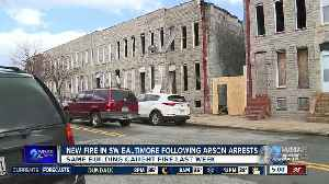 New fire in Southwest Baltimore following arson arrests [Video]