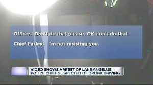 New video shows arrest of alleged drunk driving case of Lake Angelus police chief [Video]