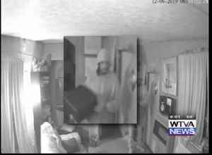 Burglarly caught on camera in West Point [Video]