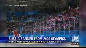 Russia banned from 2020 Olympics and 2022 World Cup over doping scandal [Video]