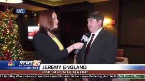 State Senator Jeremy England Gives Live Preview of Tuesday's Pre-Legislative Briefing [Video]