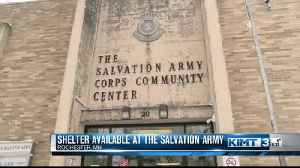 Salvation Army opens it's doors for Rochester's homeless [Video]