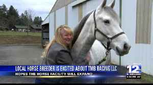 Local horse breeder excited about potential new horse facility [Video]