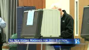 Tippecanoe County not getting new voting machines for 2020 election [Video]