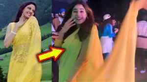 Janhvi Kapoor REMINDS Us Of Sridevi, RECREATES Yellow Saree Look From Chandni Movie [Video]