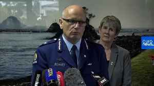 News video: New Zealand police plan to recover bodies from volcanic island on Friday