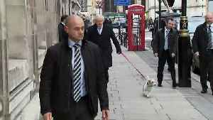 Boris Johnson casts his vote with his dog Dilyn [Video]