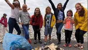 Meet Flossie the beach cleaner - dubbed Ireland's Greta
