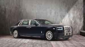 Rolls-Royce Rose Phantom commissioned by a Stockholm-based entrepreneur [Video]