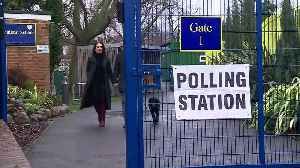 Green Party Co-Leader Jonathan Bartley casts his vote [Video]