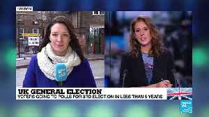 """UK general election: """"Voters are well aware of the stakes"""" [Video]"""