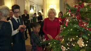 Duchess of Cornwall invites children into Clarence House [Video]