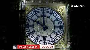 Exit poll predicts a large Conservative majority [Video]