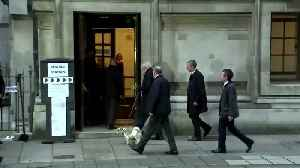 UK PM Johnson brings four-legged friend to cast vote [Video]